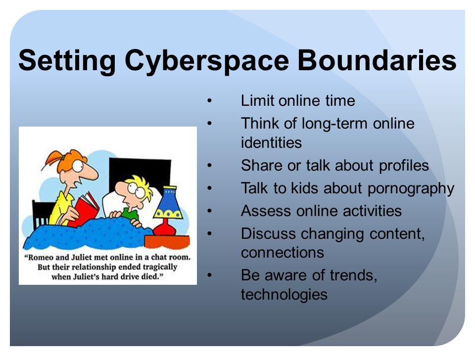 Setting Cyberspace Boundaries