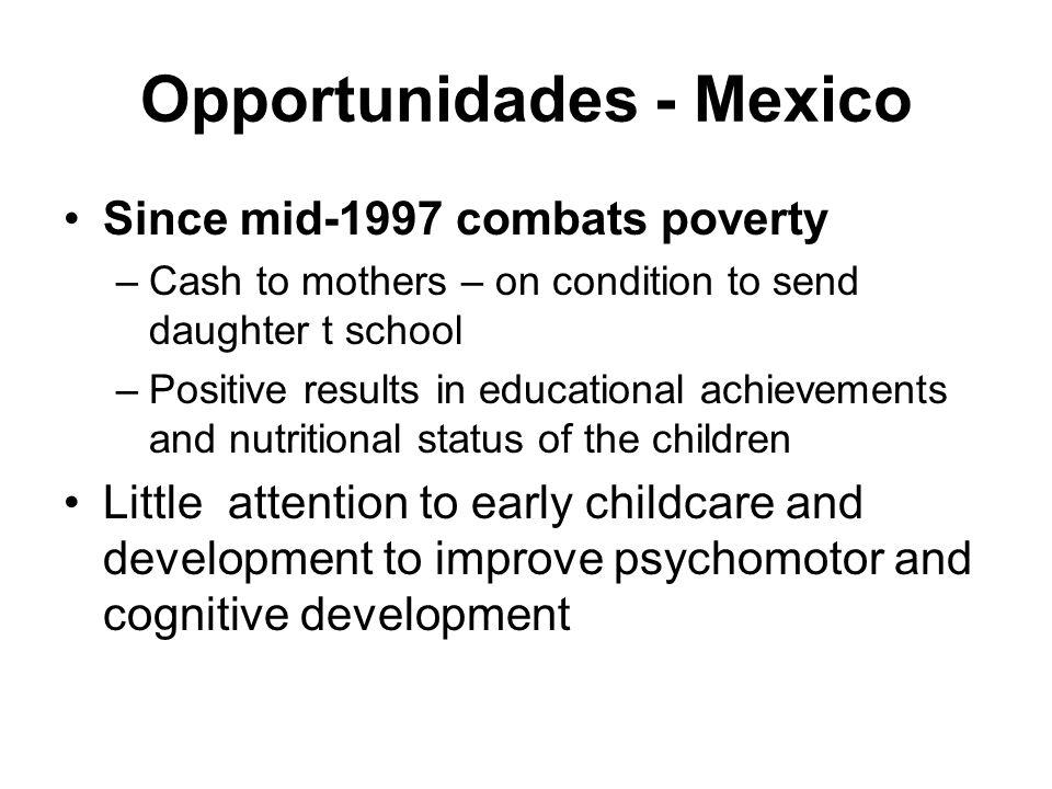 Opportunidades - Mexico