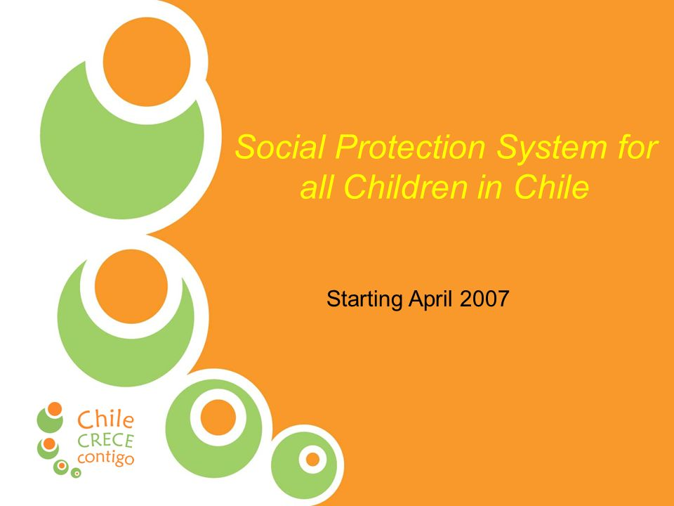 Social Protection System for all Children in Chile