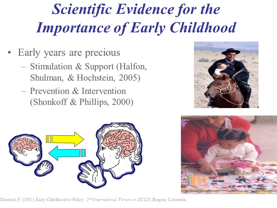 Scientific Evidence for the Importance of Early Childhood