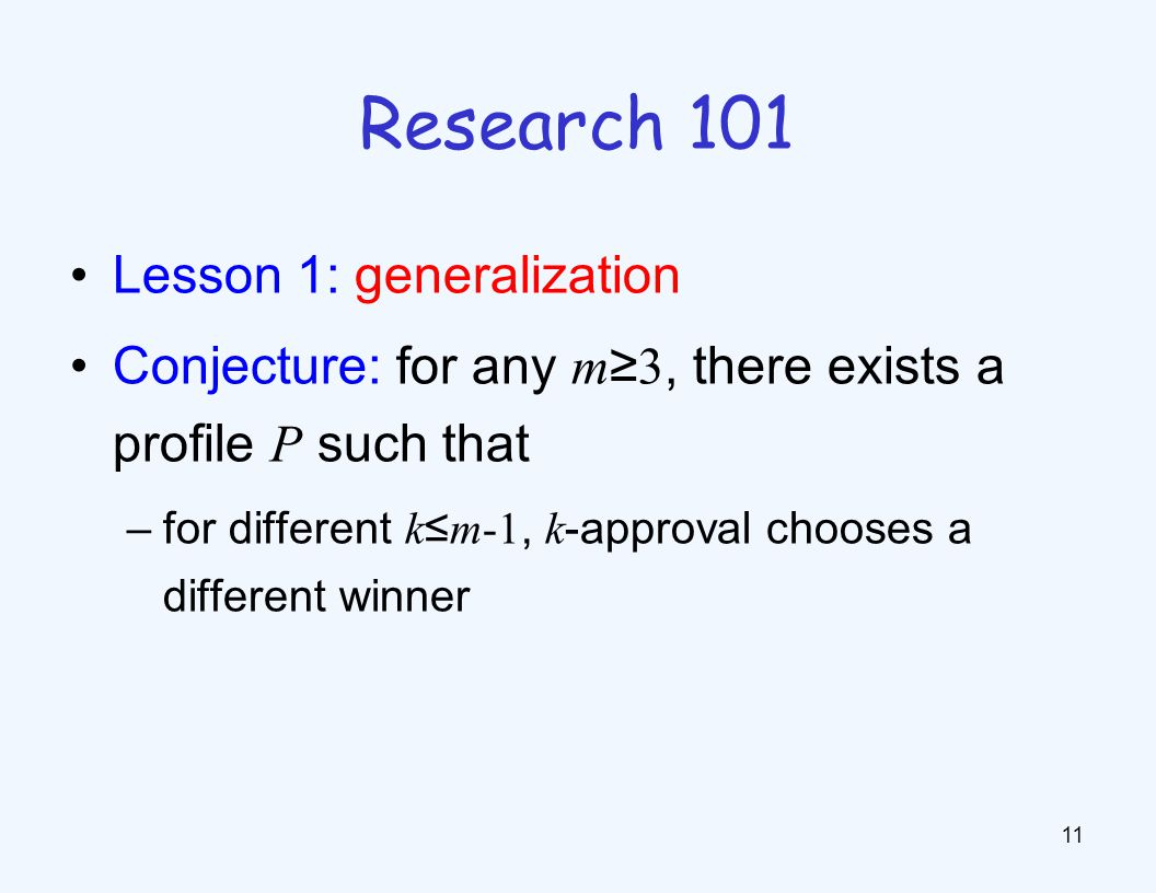 Research 102 Lesson 2: open-mindedness