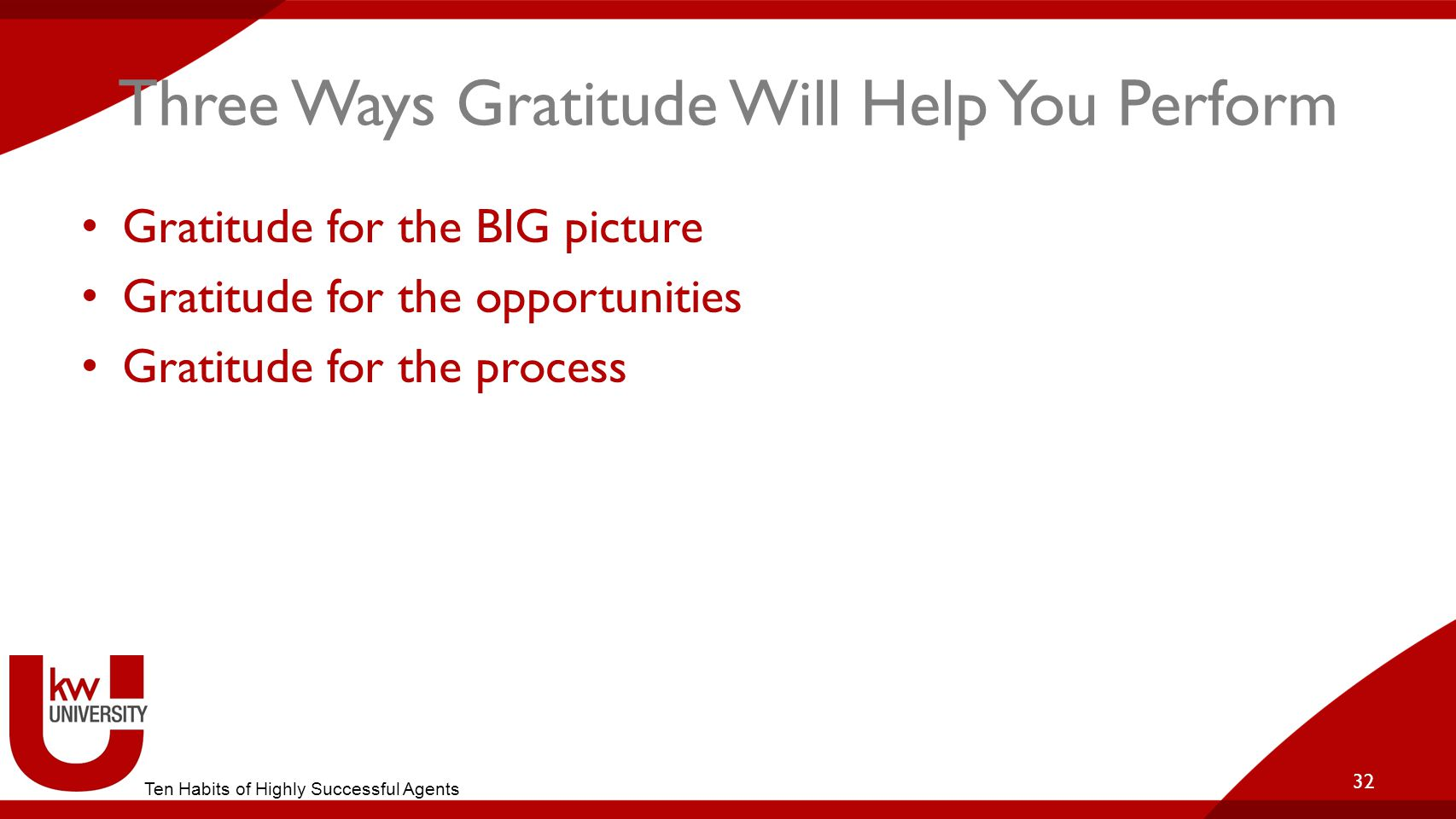 Three Ways Gratitude Will Help You Perform