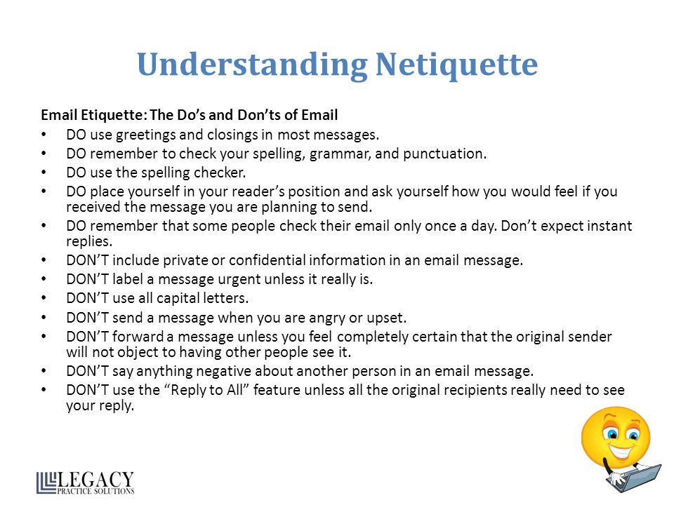 Understanding Netiquette