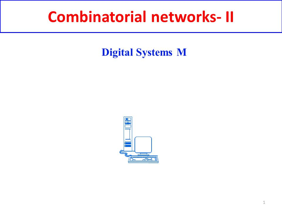 Combinatorial networks- II