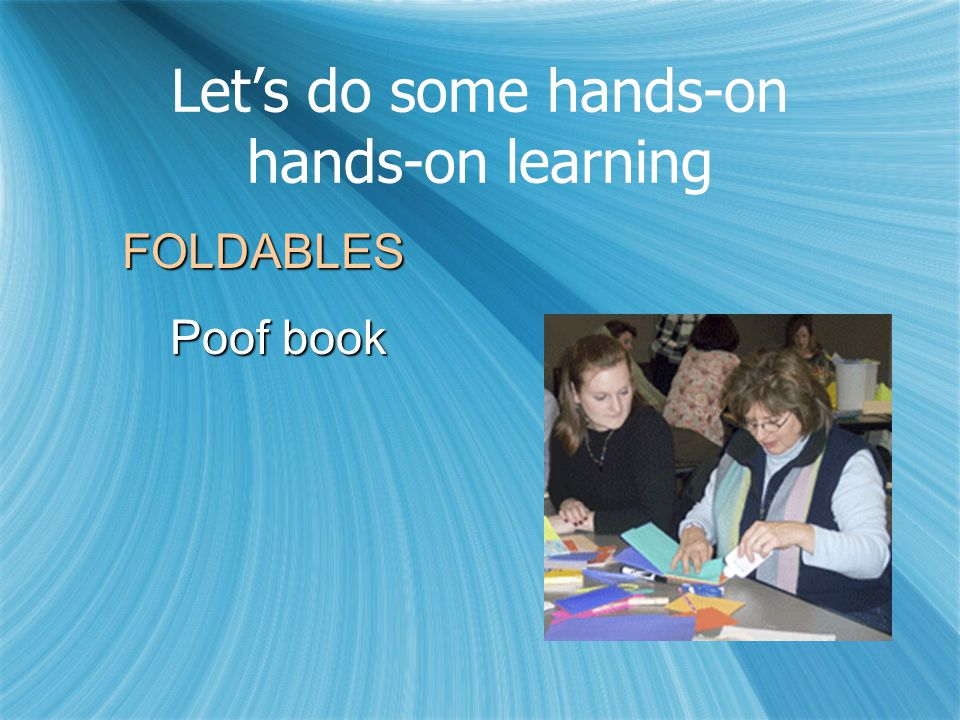 Let's do some hands-on hands-on learning