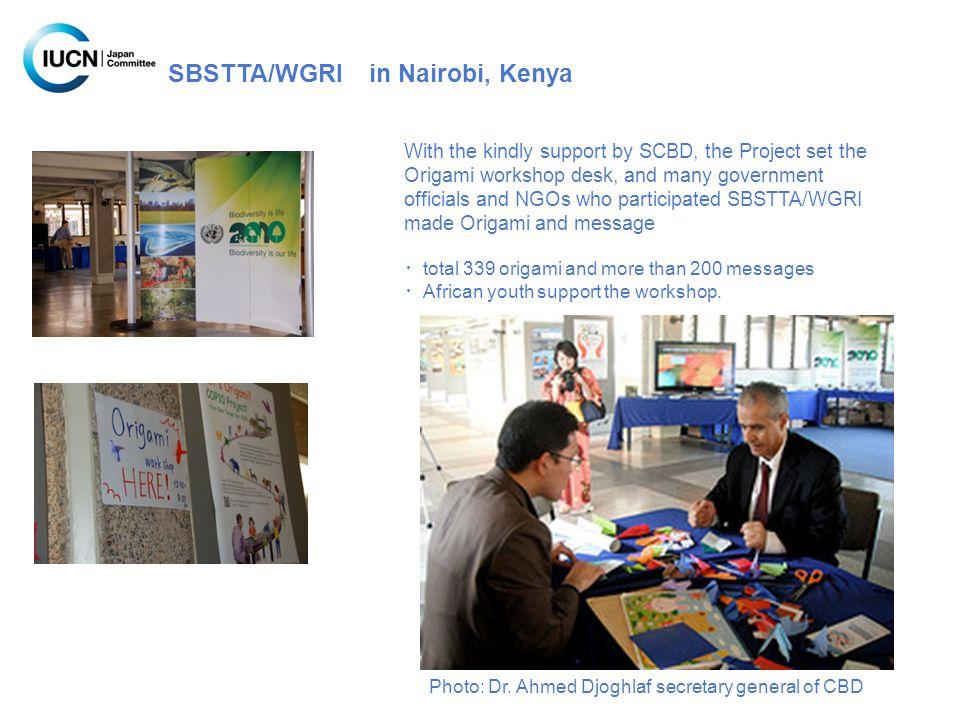 SBSTTA/WGRI in Nairobi, Kenya