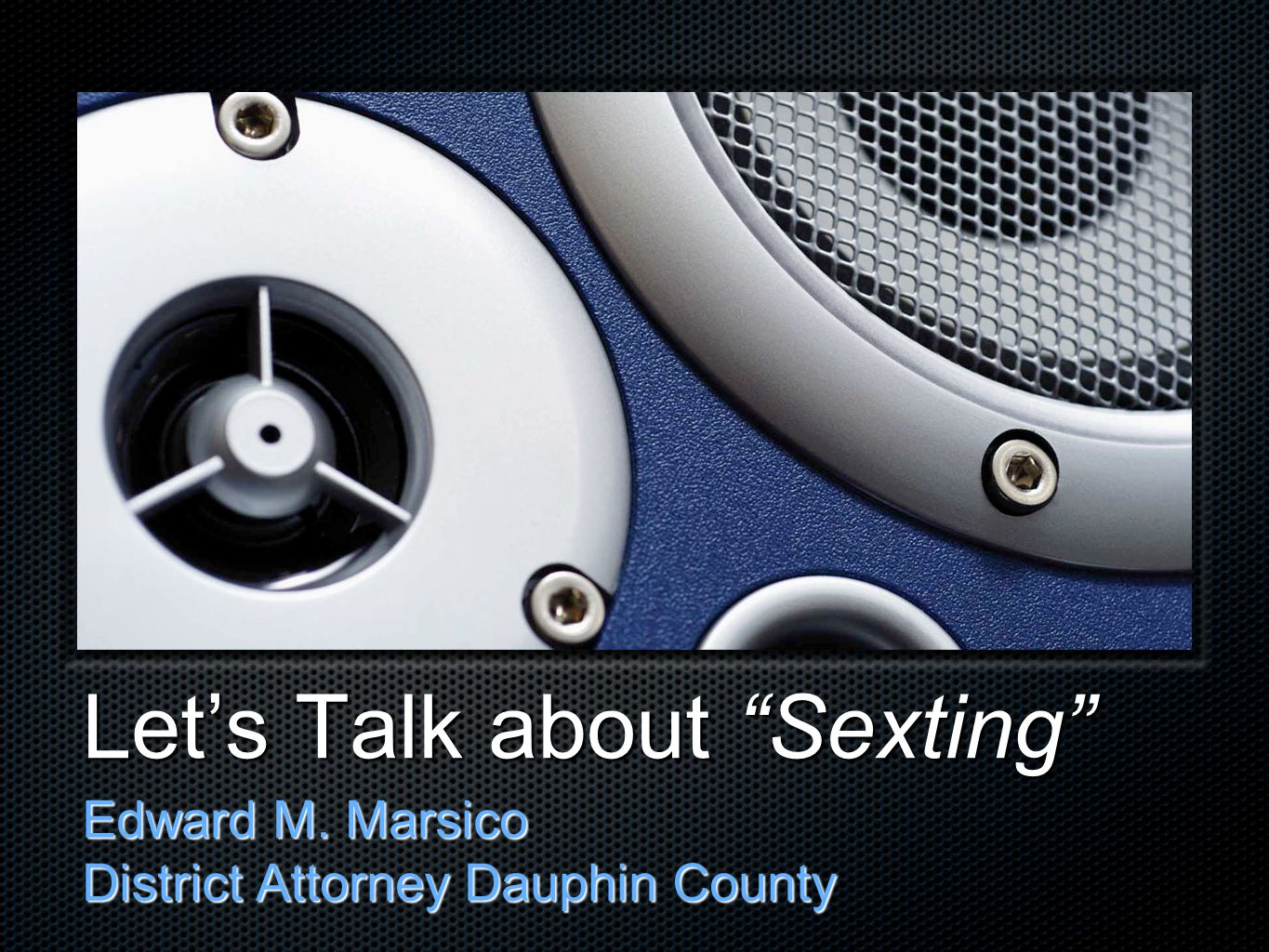 Let's Talk about Sexting