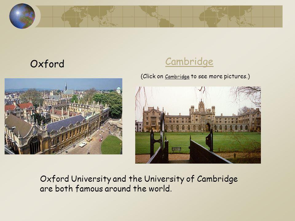 Cambridge Oxford.