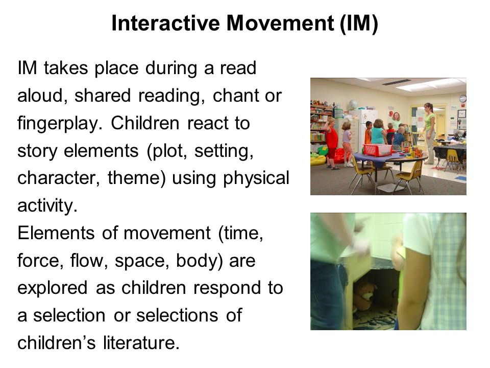 Interactive Movement (IM)