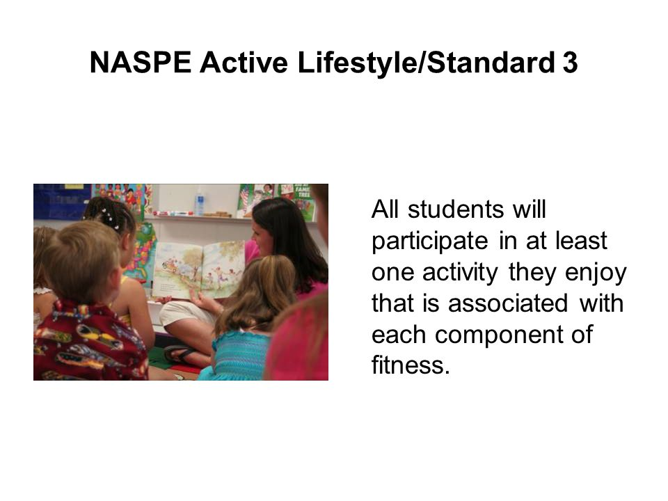 NASPE Active Lifestyle/Standard 3