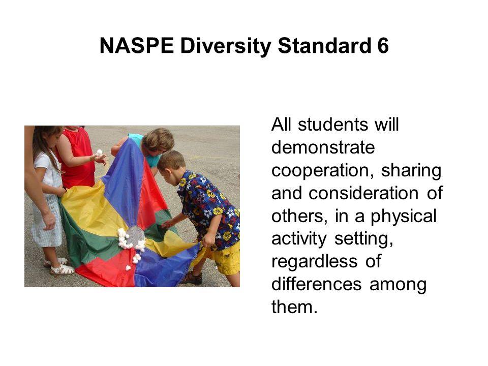 NASPE Diversity Standard 6