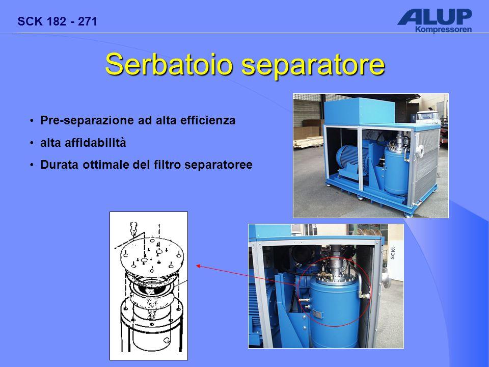 Serbatoio separatore Pre-separazione ad alta efficienza