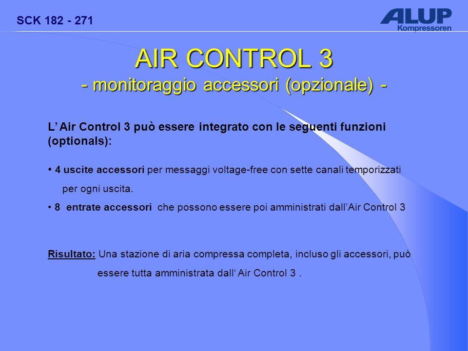 - monitoraggio accessori (opzionale) -