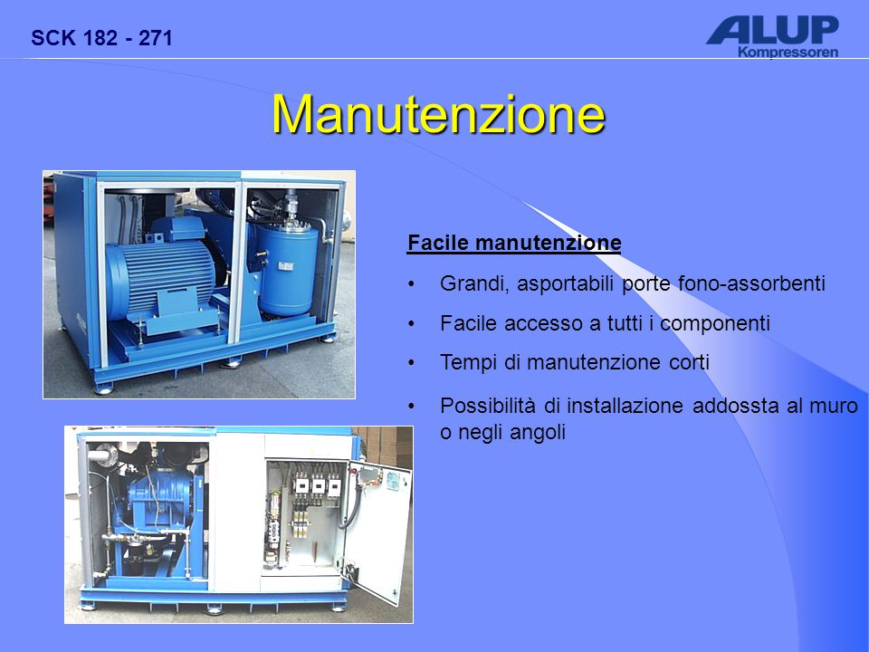 Manutenzione Facile manutenzione