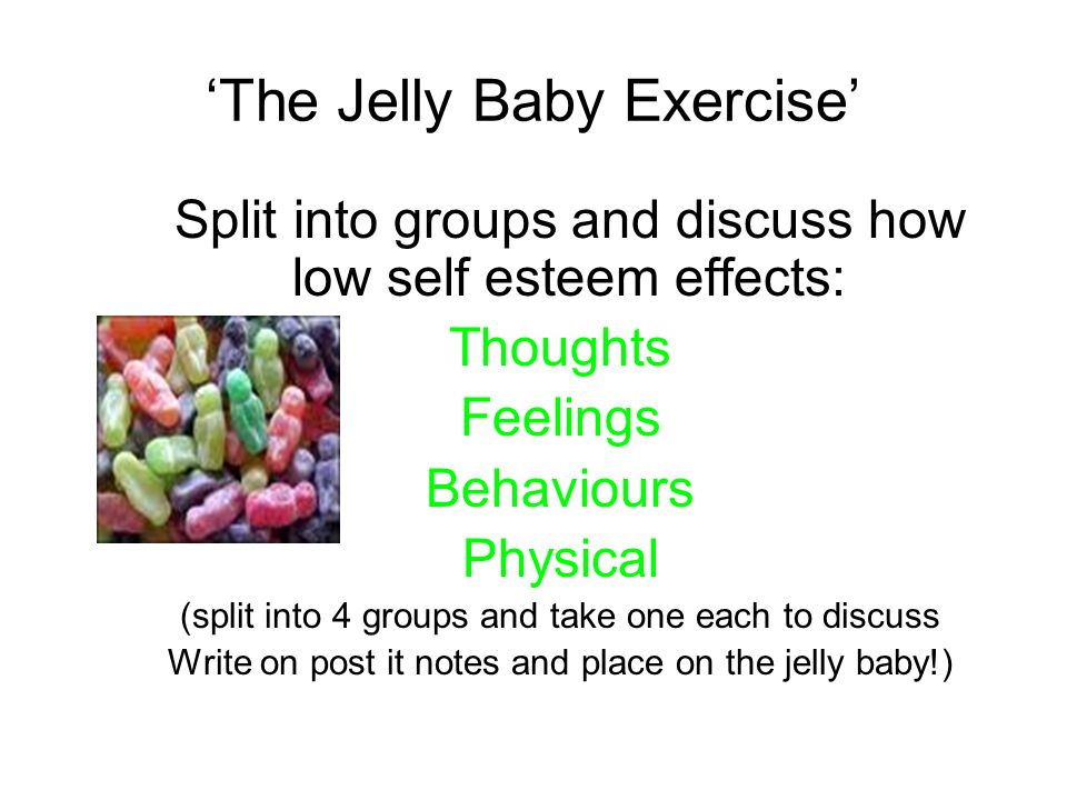 'The Jelly Baby Exercise'
