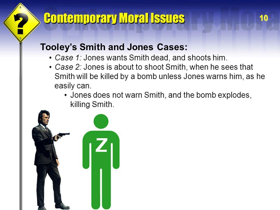 Tooley's Smith and Jones Cases: