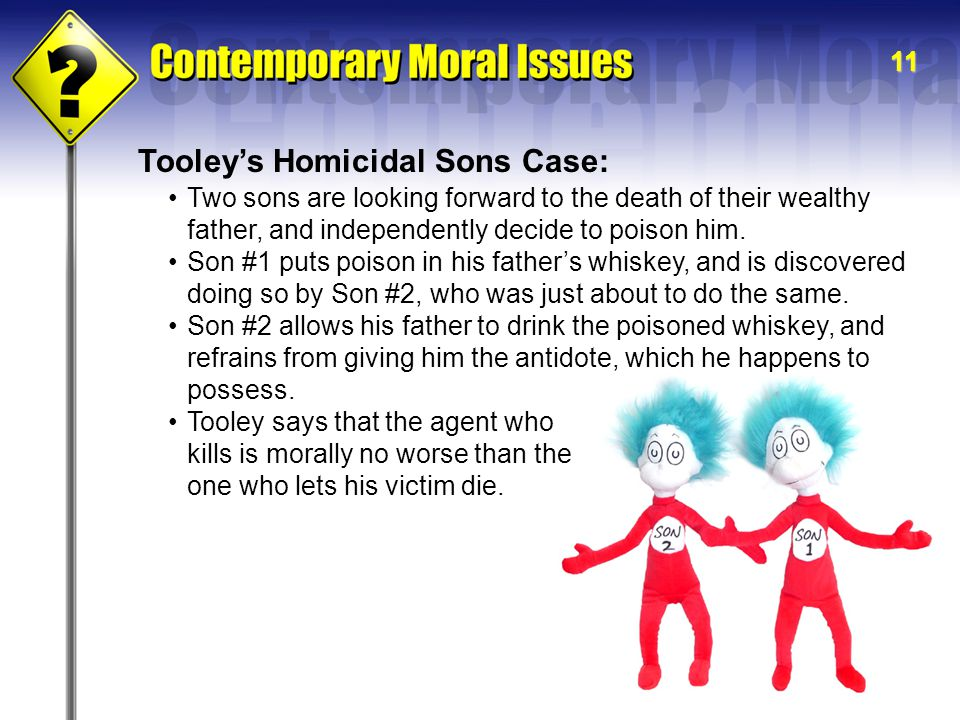 Tooley's Homicidal Sons Case: