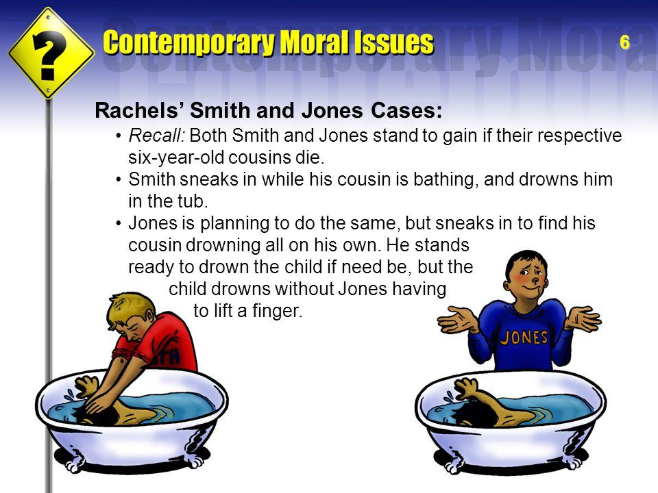 Rachels' Smith and Jones Cases: