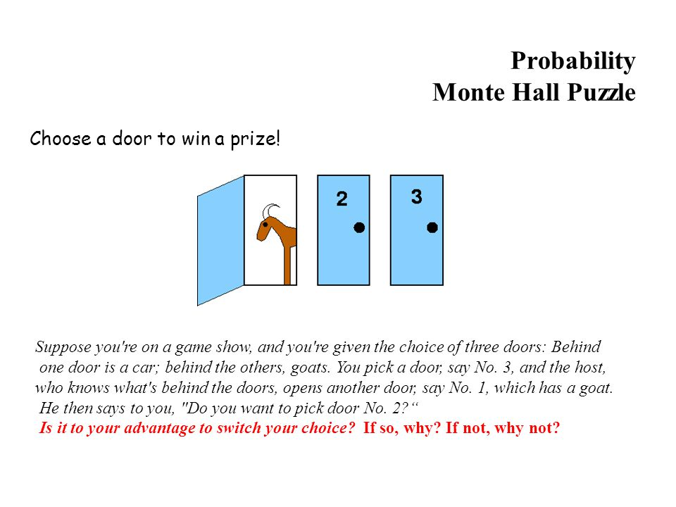 Probability Monte Hall Puzzle