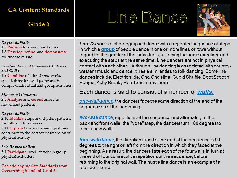 CA Content Standards Grade 6
