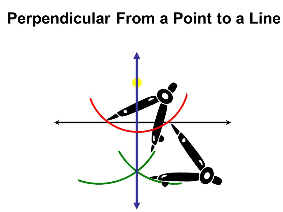 Perpendicular From a Point to a Line