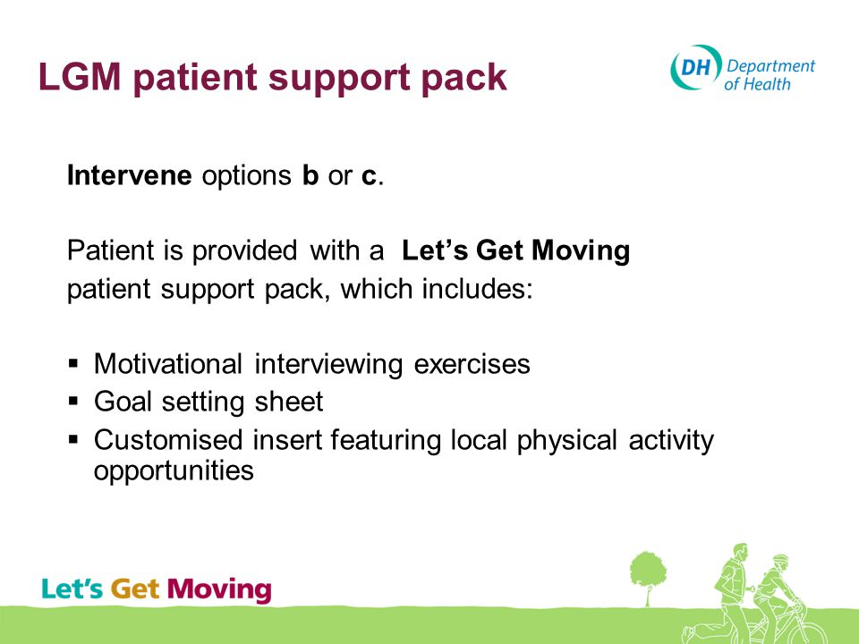 LGM patient support pack