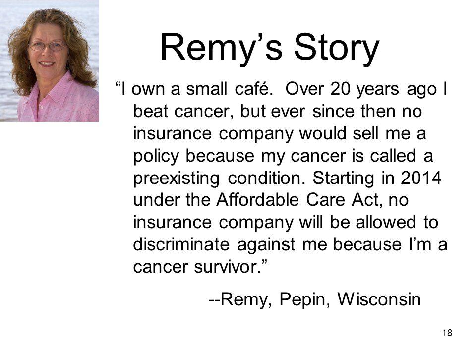 Remy's Story