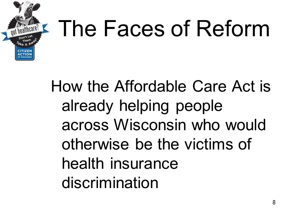 The Faces of Reform