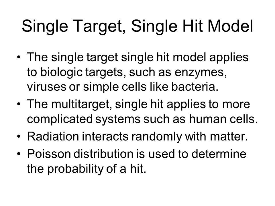 Single Target, Single Hit Model