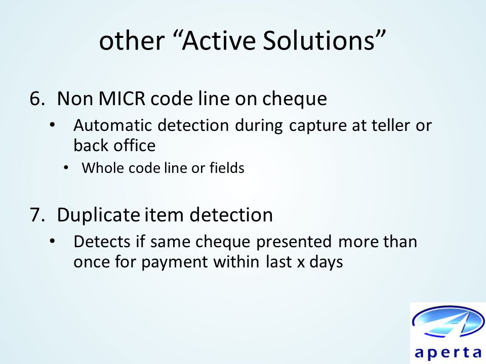 other Active Solutions