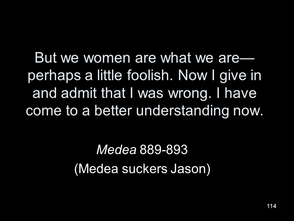 Medea 889-893 (Medea suckers Jason)