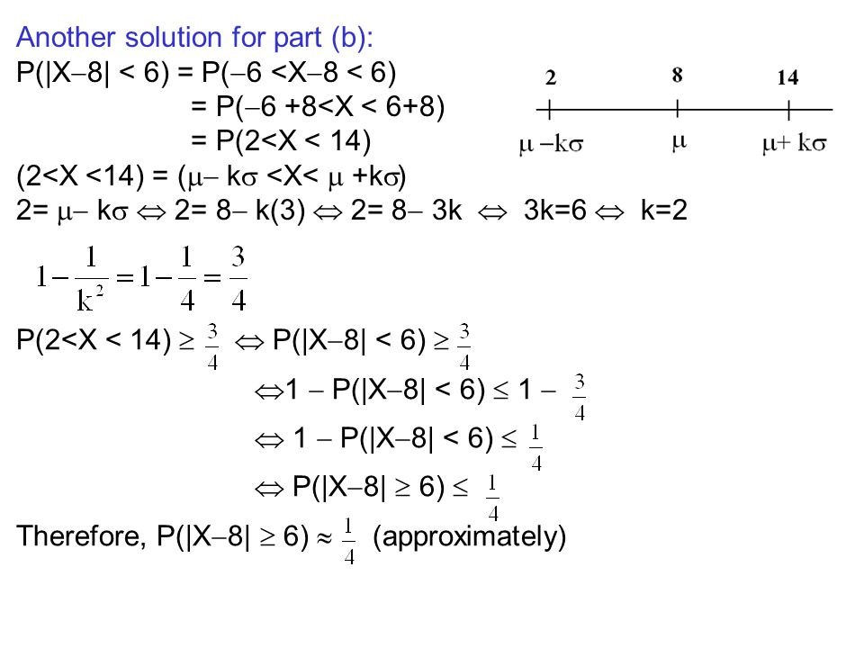 Another solution for part (b):