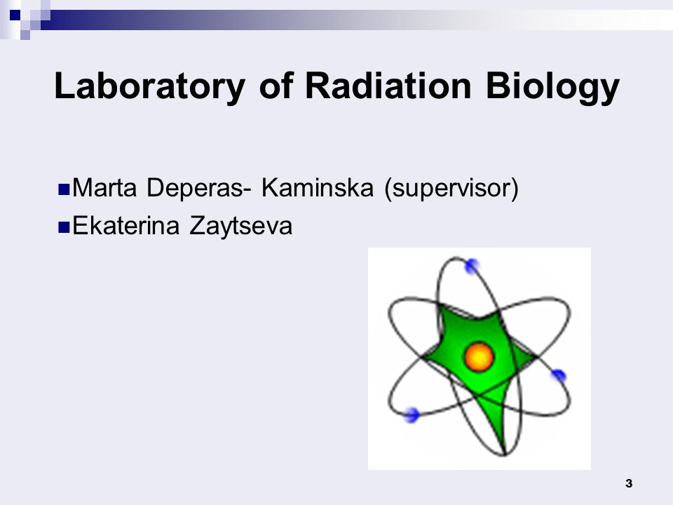 Laboratory of Radiation Biology