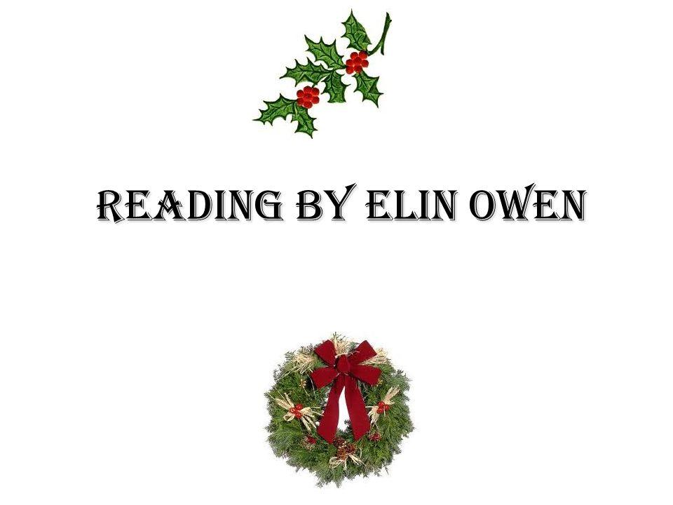 Reading by Elin Owen