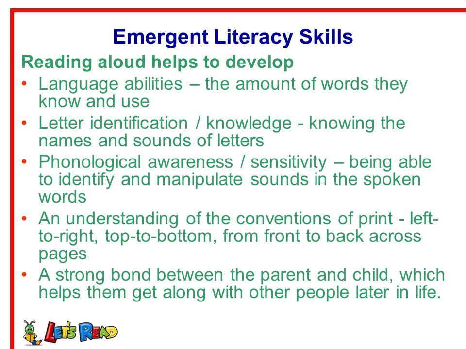 Emergent Literacy Skills