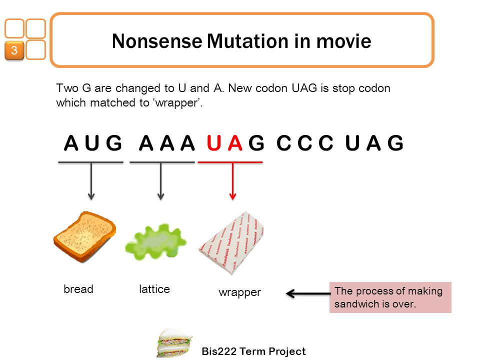 Nonsense Mutation in movie