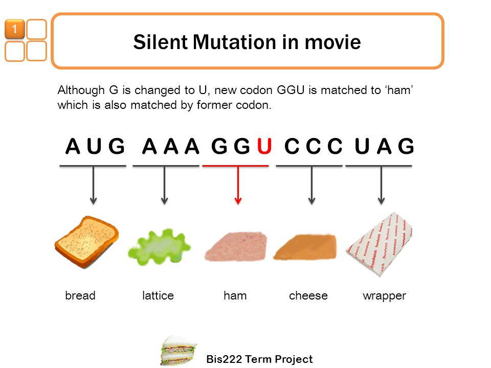Silent Mutation in movie