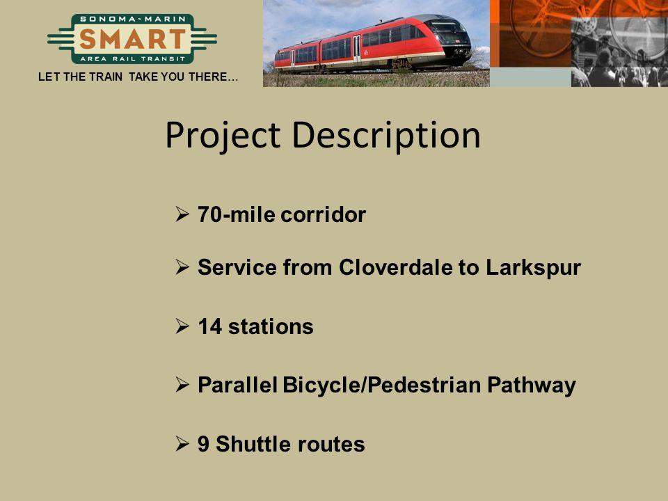 Project Description 70-mile corridor