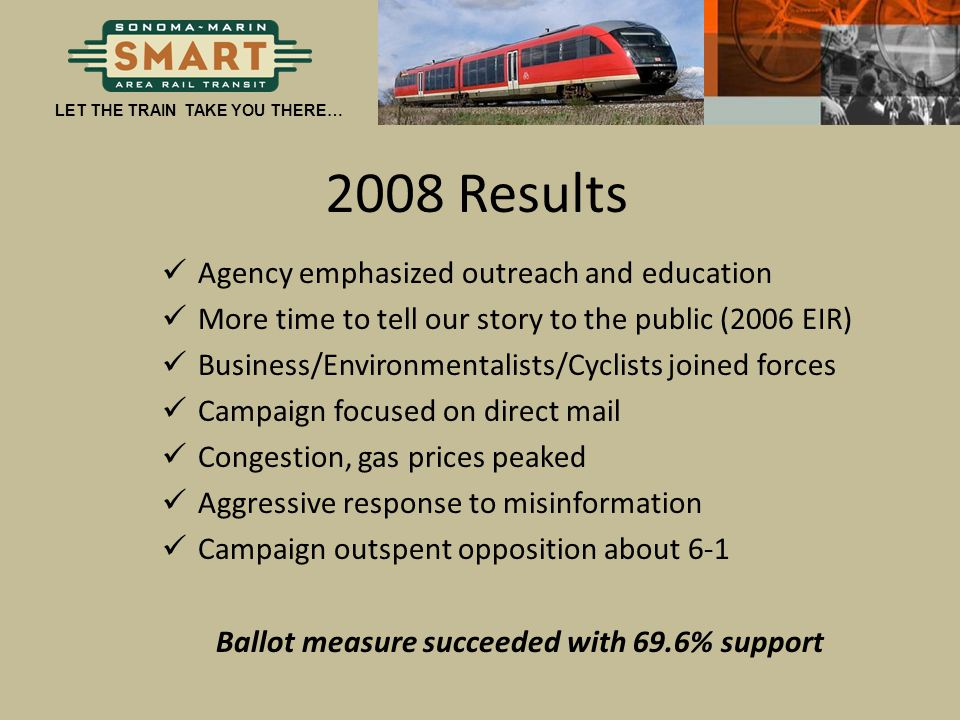 Ballot measure succeeded with 69.6% support