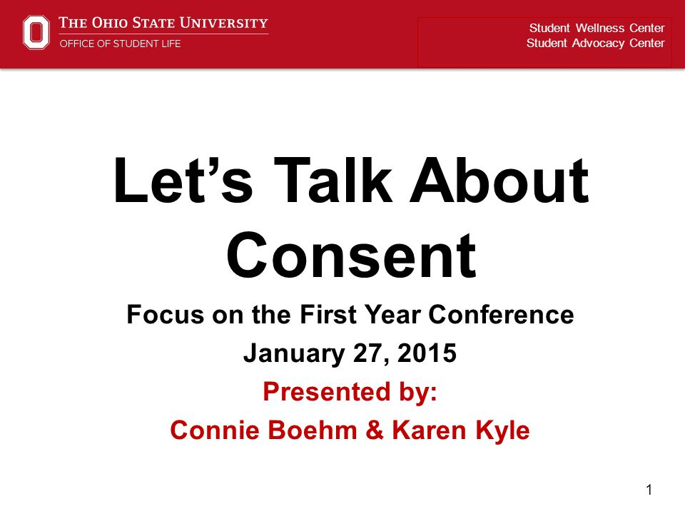 Let's Talk About Consent