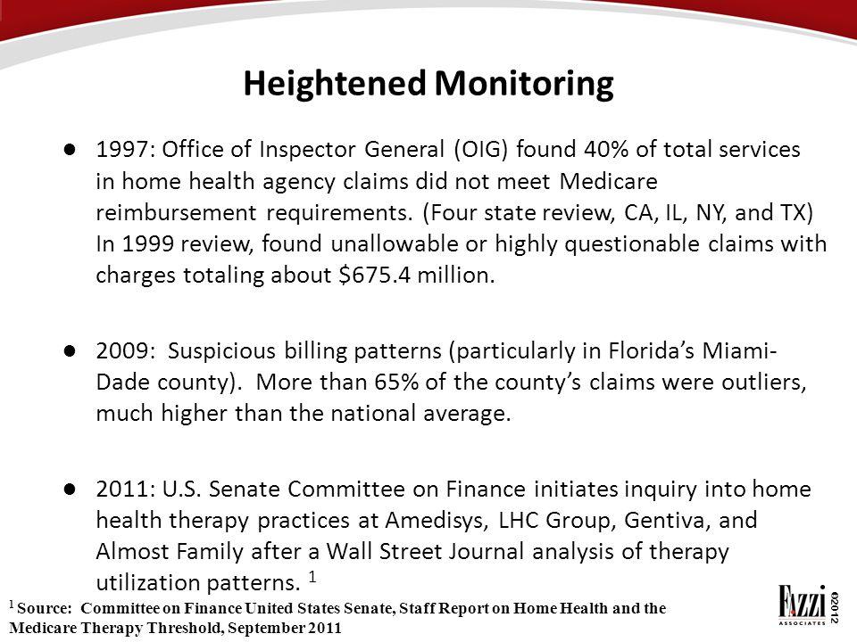 Heightened Monitoring