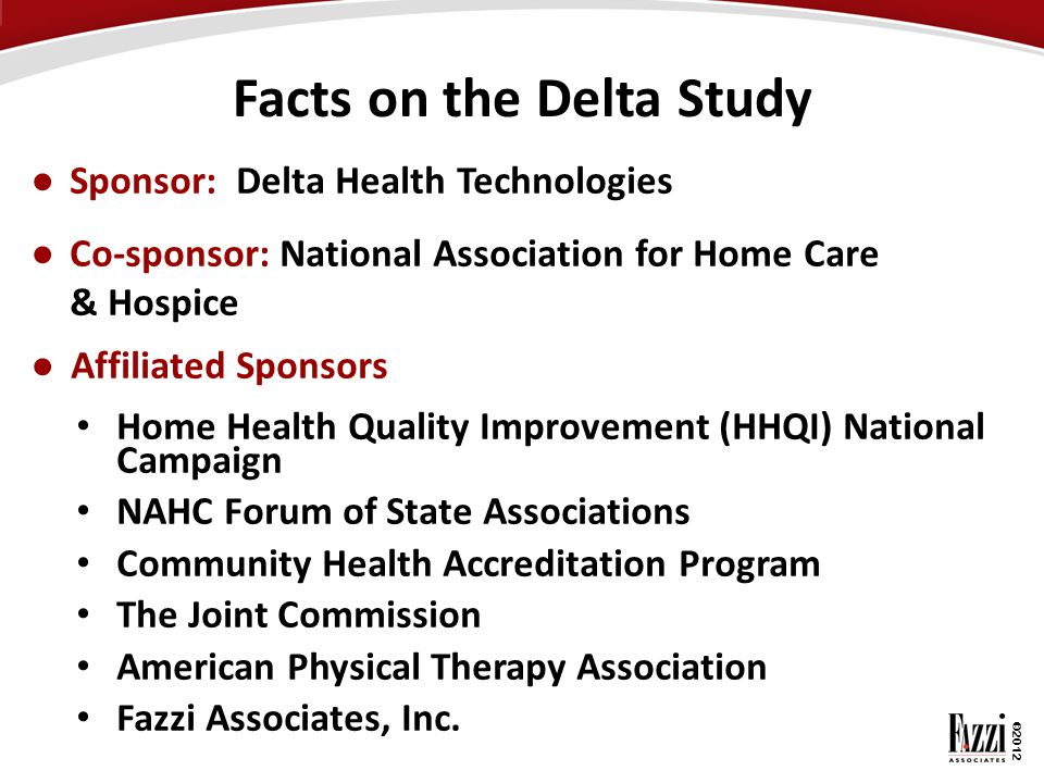 Facts on the Delta Study