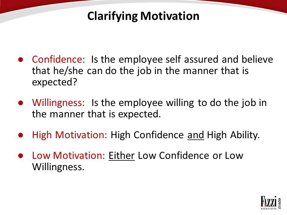 Clarifying Motivation