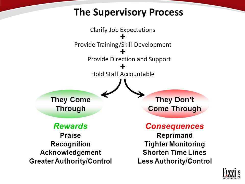 The Supervisory Process