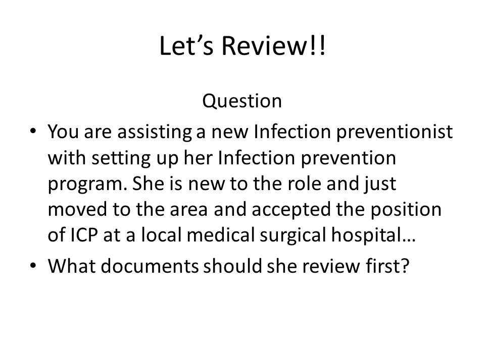 Let's Review!! Question.