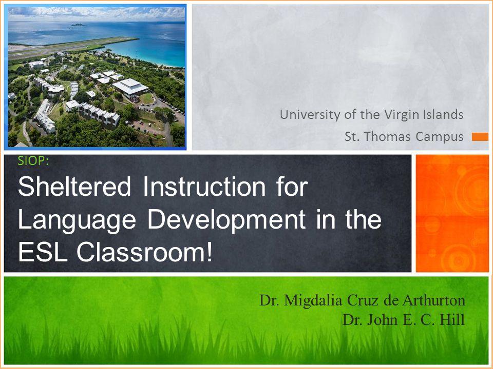 Dr. Migdalia Cruz de Arthurton Dr. John E. C. Hill