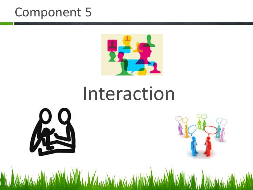 Component 5 Interaction