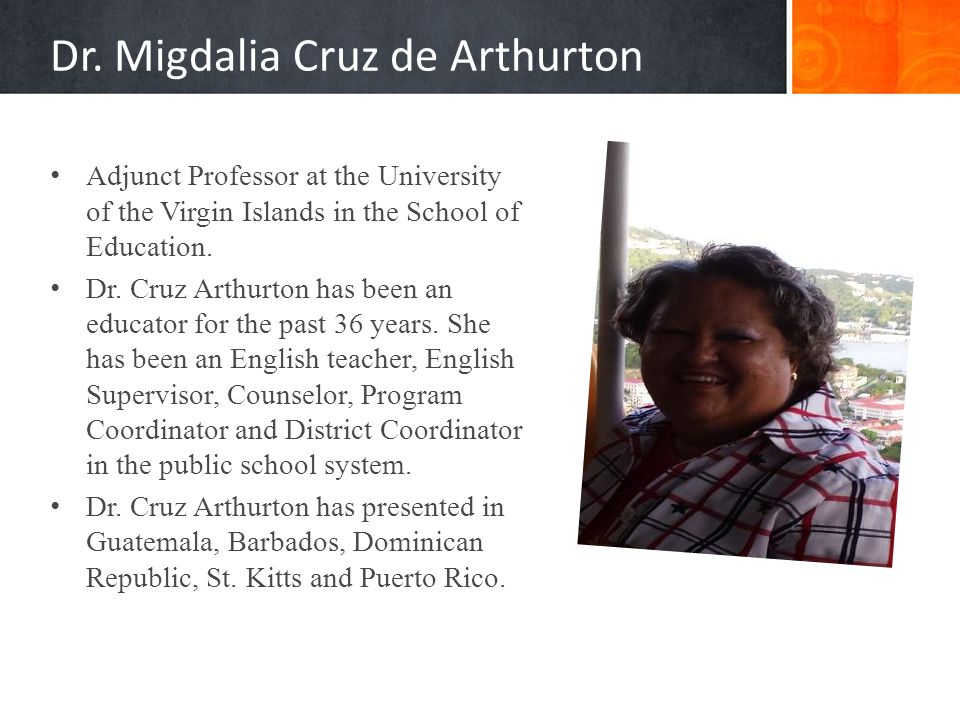 Dr. Migdalia Cruz de Arthurton
