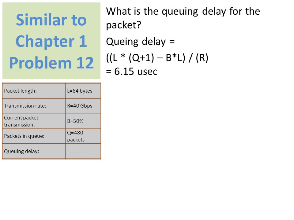 Similar to Chapter 1 Problem 12