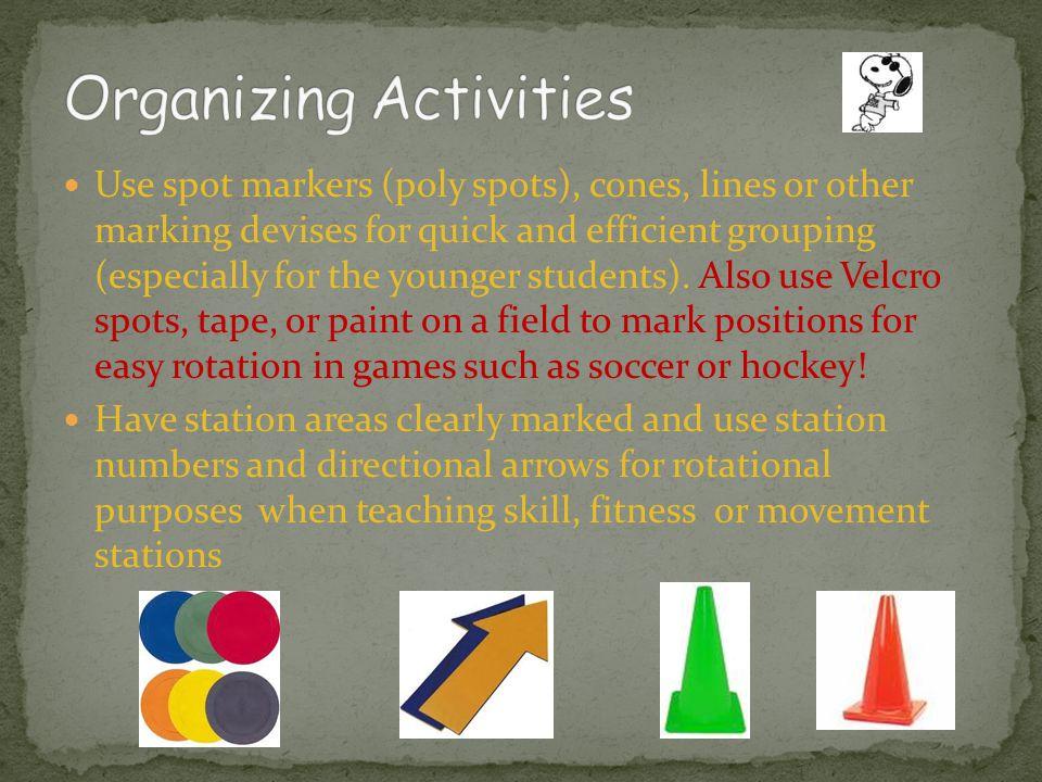 Organizing Activities